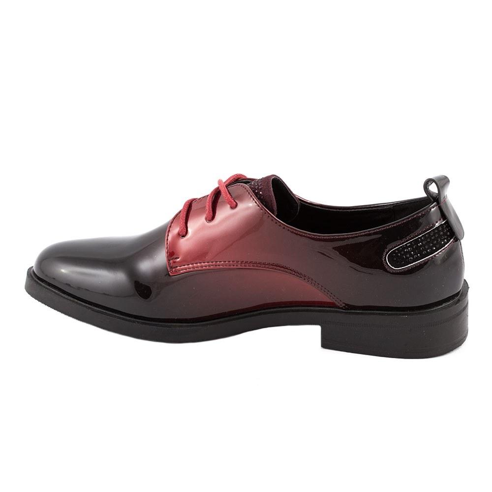Pantofi dama lacuiti L-2-WINE