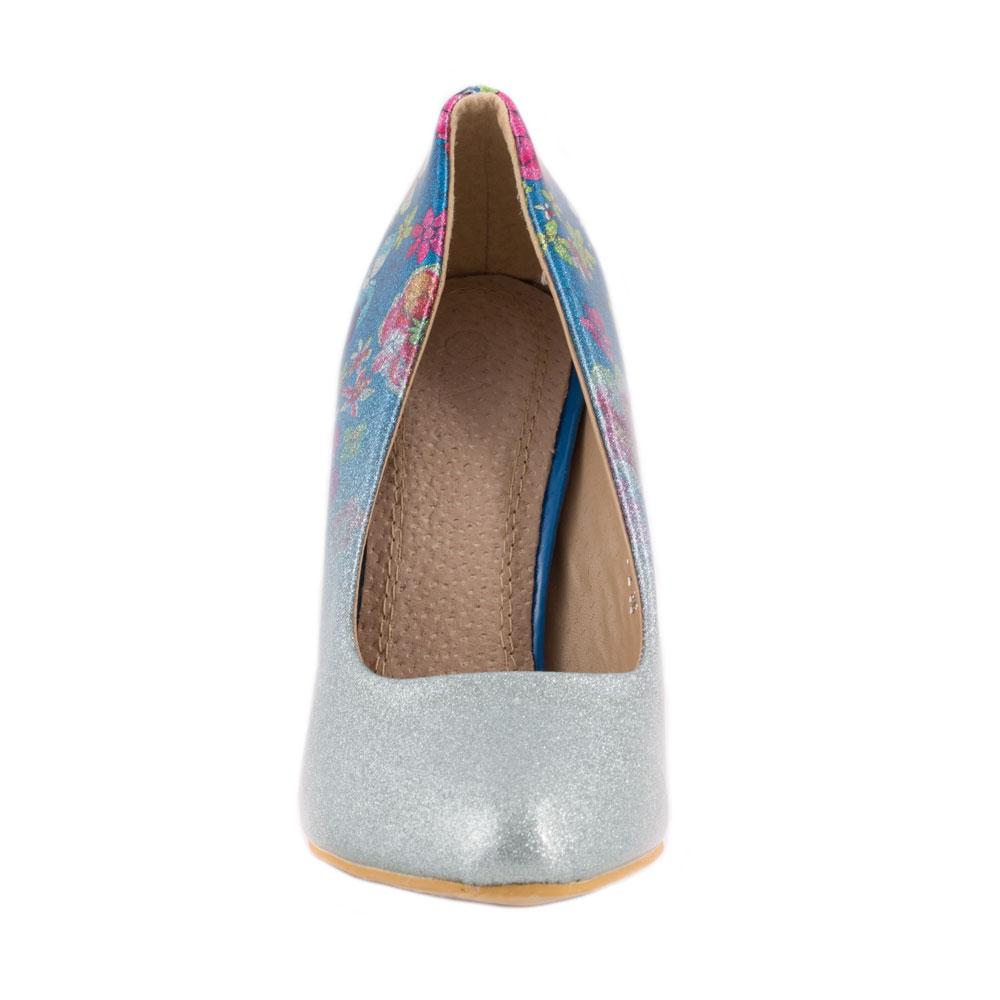 Pantofi de dama eleganti 606-2-BLUE