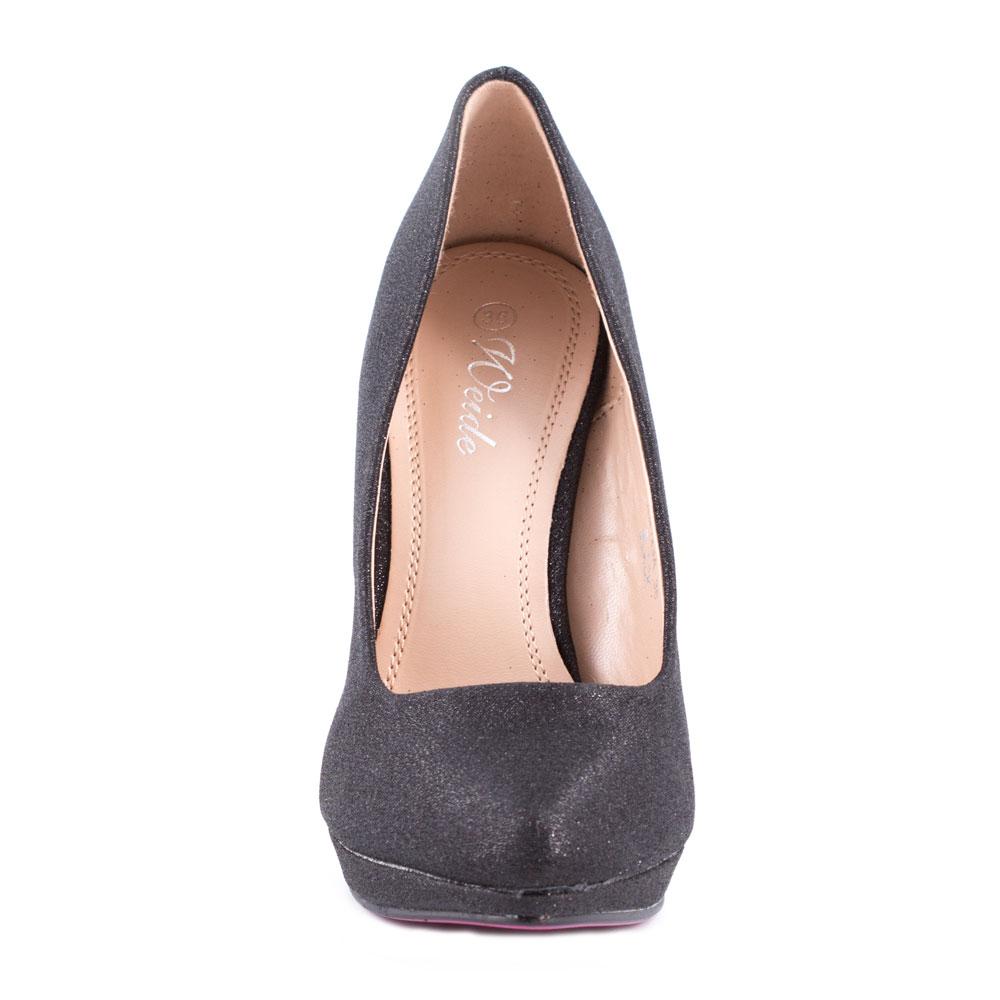 Pantofi de dama eleganti XQ123A-NEGRU