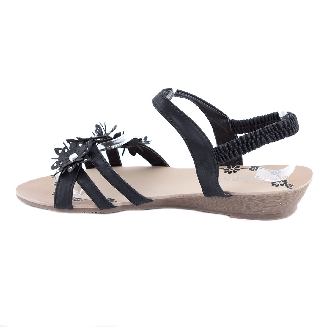 Sandale dama cu talpa joasa K-58-GRI la 29,99Lei - Zibra.ro