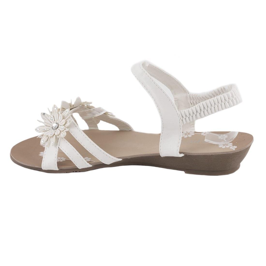 Sandale dama cu talpa joasa TP-02-ALB la 29,99Lei - Zibra.ro