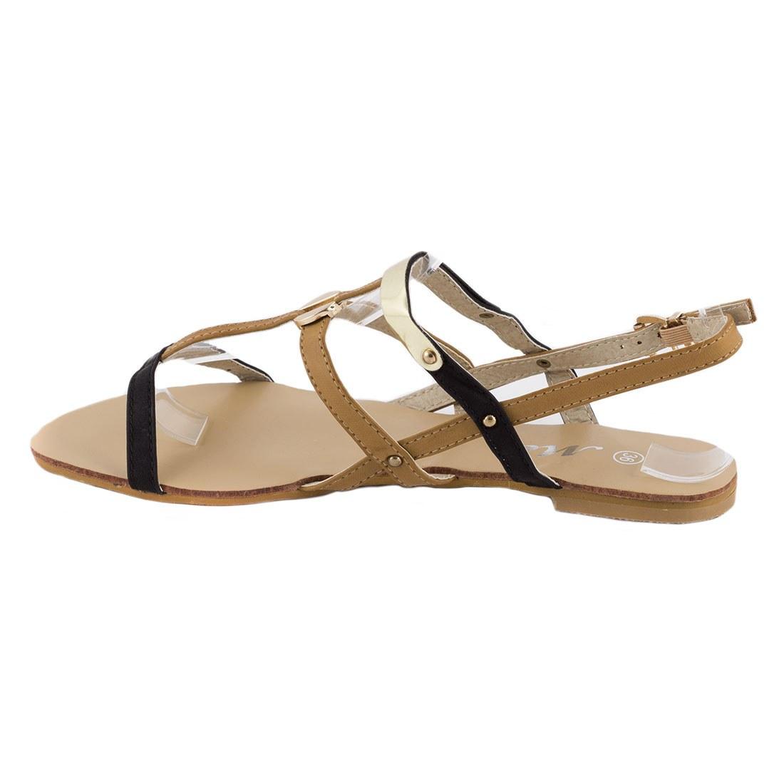 Sandale dama cu barete OL-HG133-NEGRU