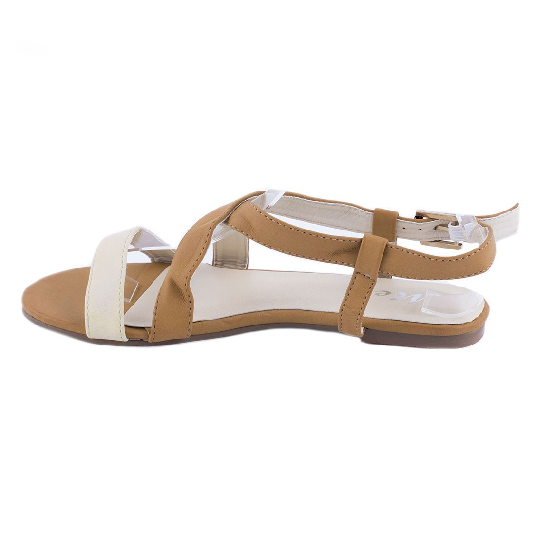 Sandale de dama cu talpa joasa OL-HL199-BEJ