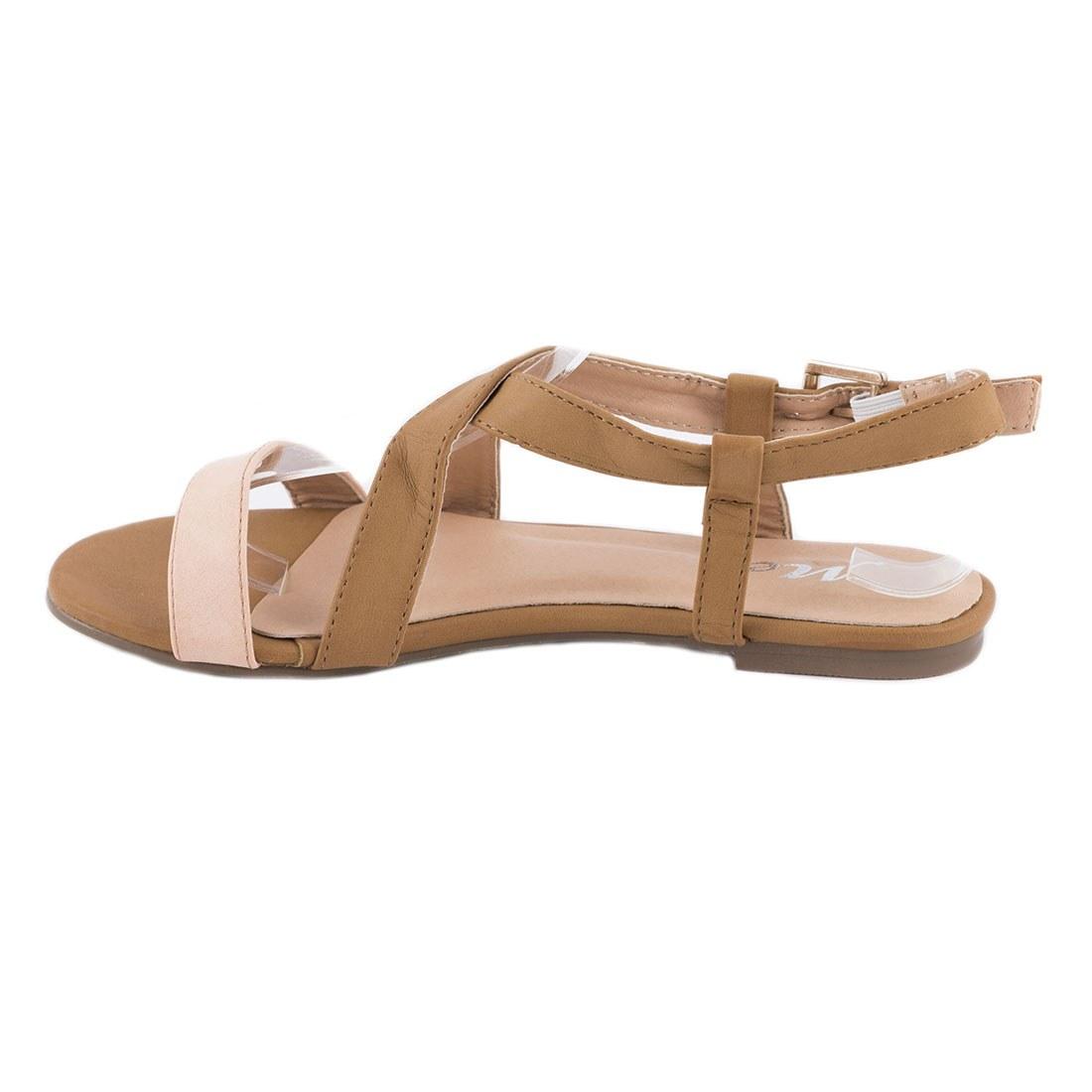 Sandale de dama cu talpa joasa OL-HL199-ROZ