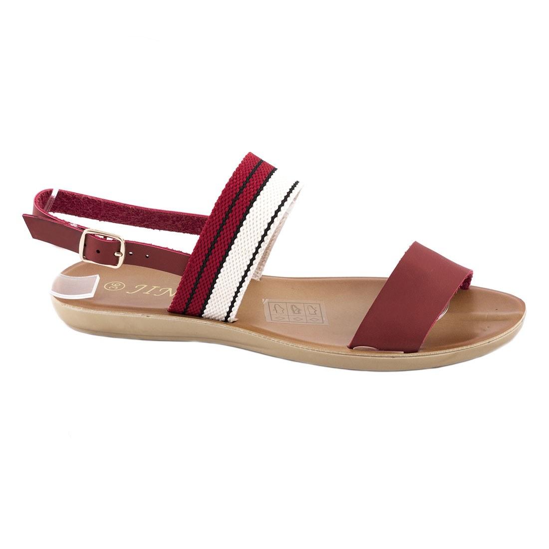 Sandale dama cu barete WS-20184-ROSU