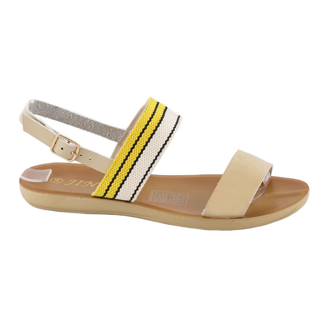 Sandale dama cu barete WS-20184-BEJ