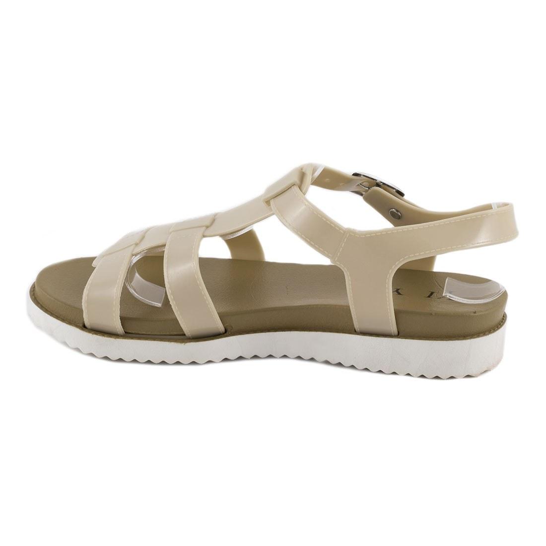 Sandale de dama din cauciuc 668-BEJ
