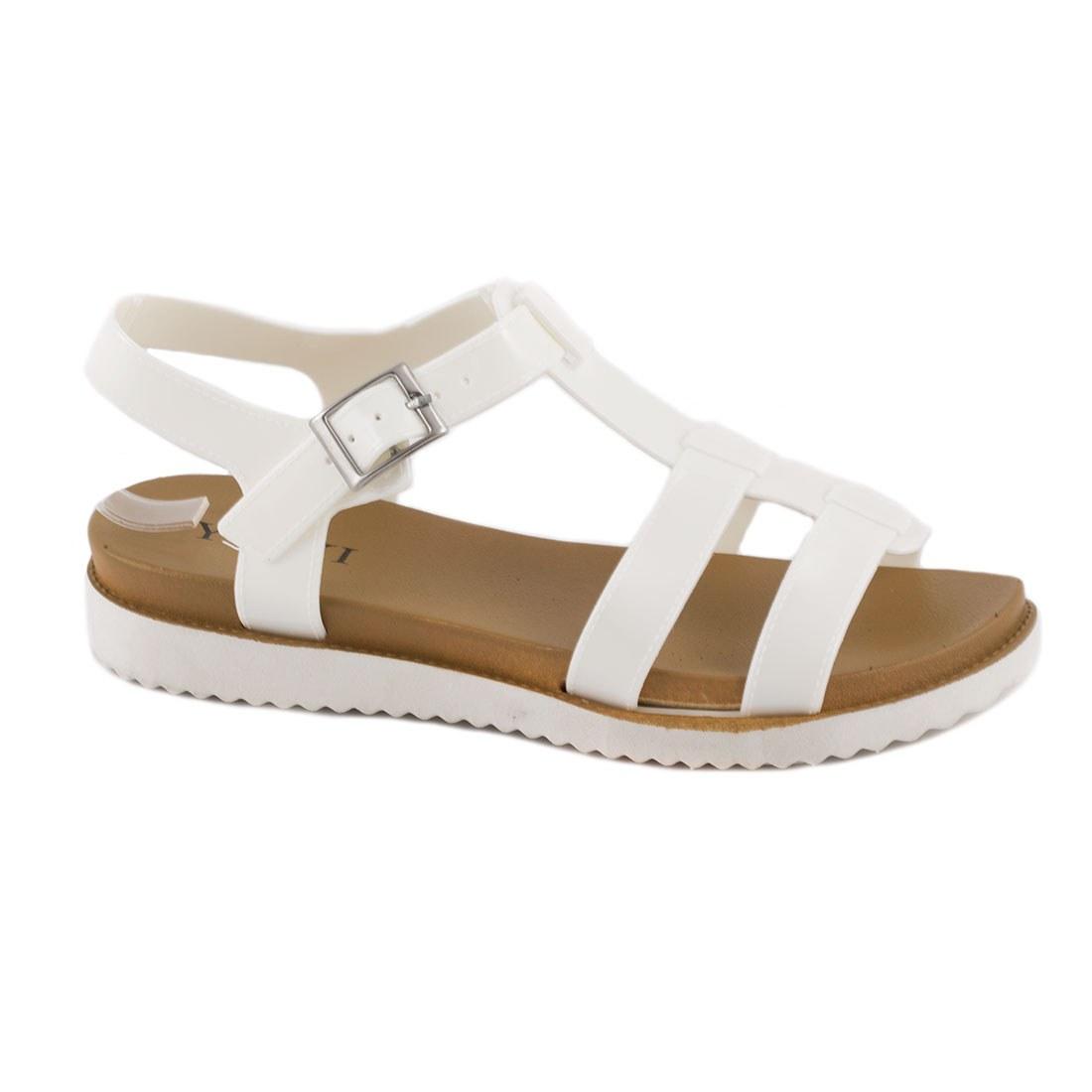 Sandale de dama din cauciuc 668-ALB