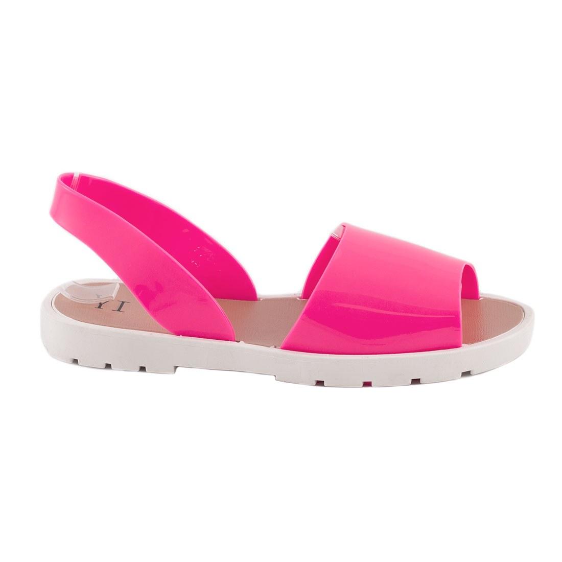 Sandale dama comode S-14-FUCSIA