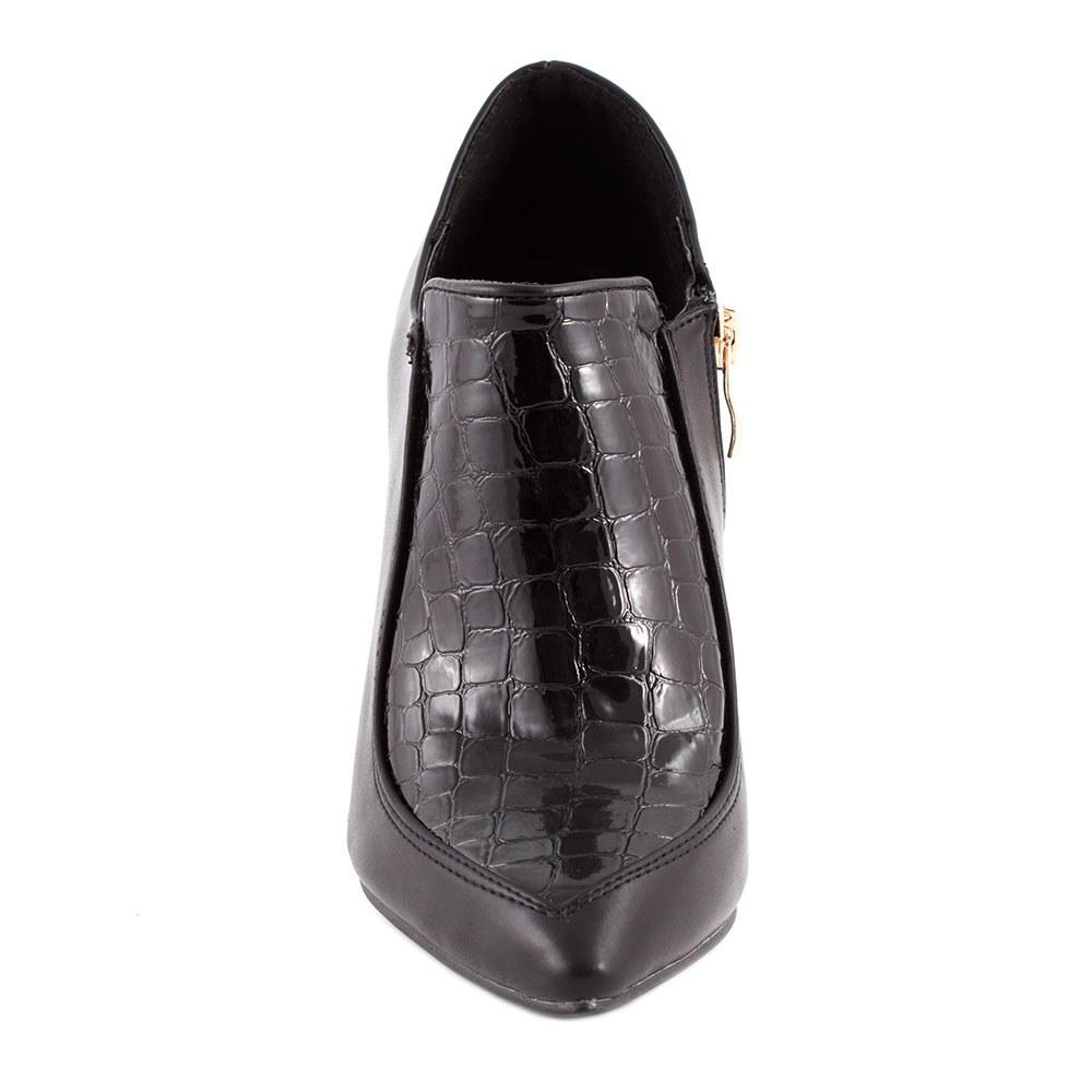 Pantofi negri cu toc EK-66N