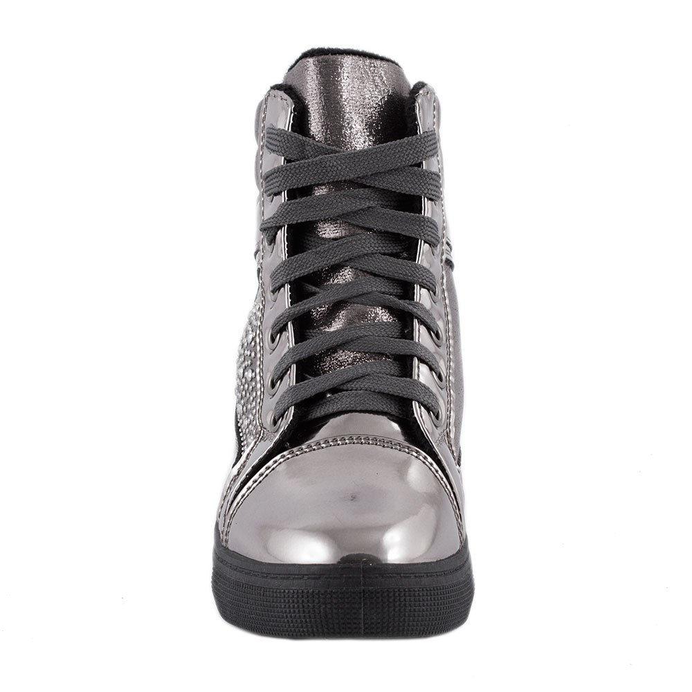 Sneakers dama cu talpa ortopedica ascunsa A-61-GUN