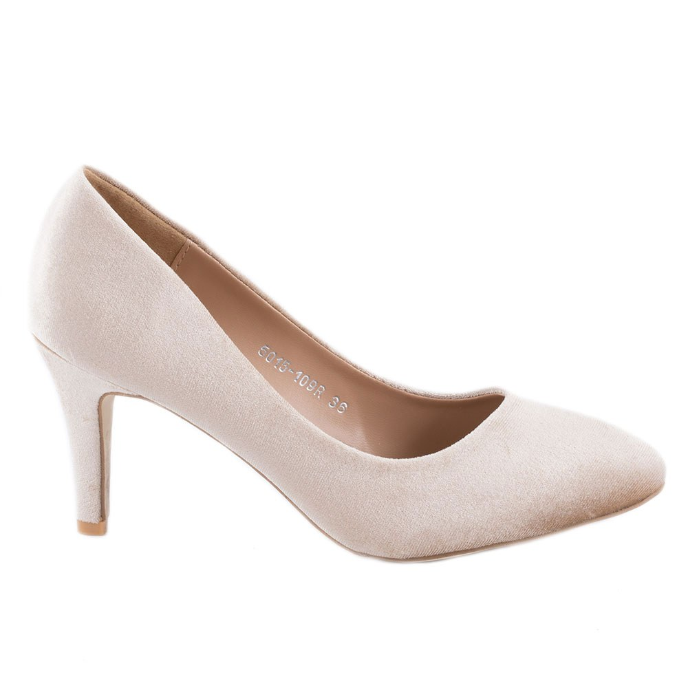 Pantofi dama cu toc 5015-109R-KAKI