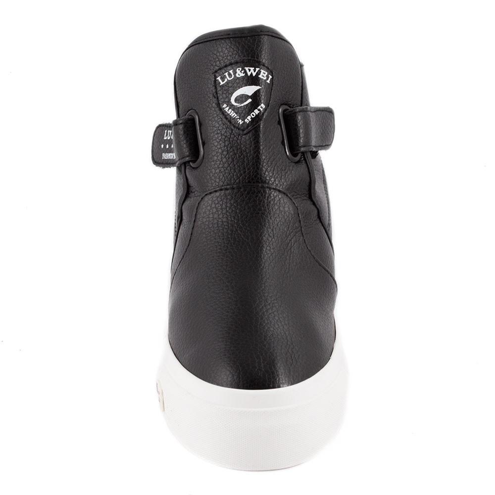 Sneakers dama cu talpa ortopedica ascunsa OR-2019-NEGRU