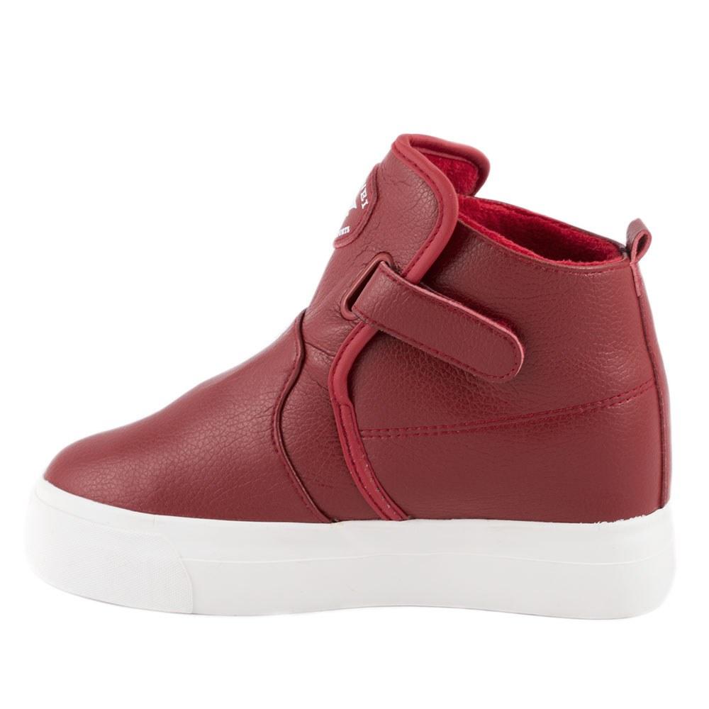 Sneakers dama cu talpa ortopedica ascunsa OR-2019-RED