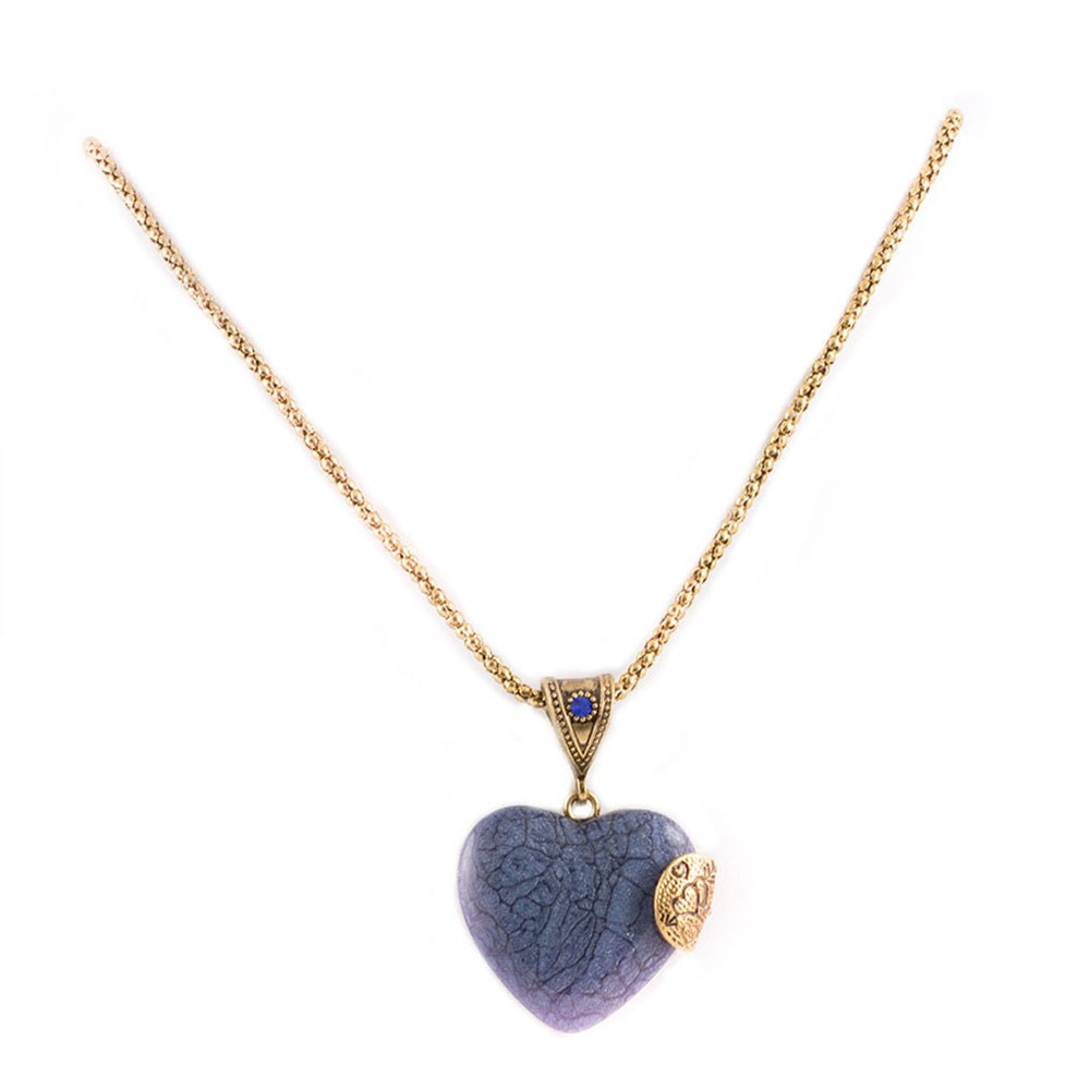 Colier dama cu piatra forma inima CP-17105