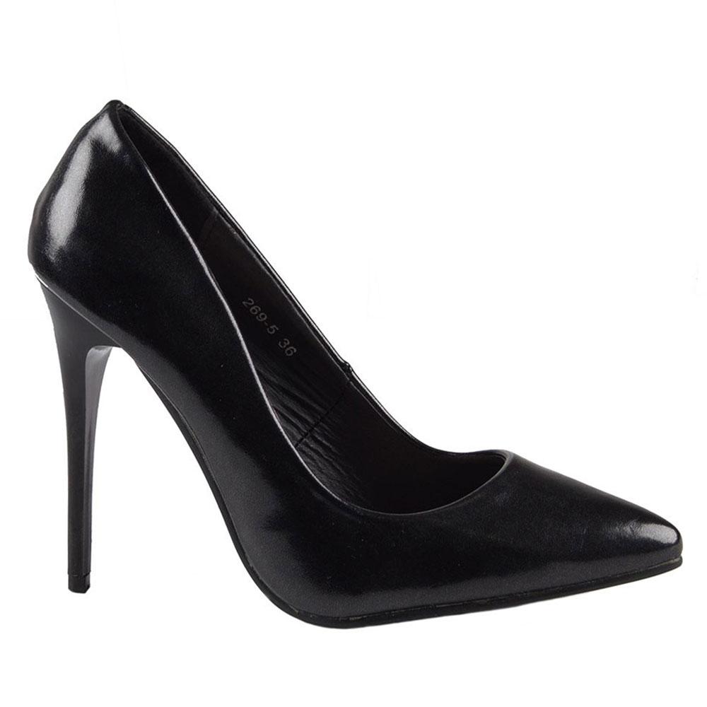 Pantofi dama eleganti 269-5-NEGRU