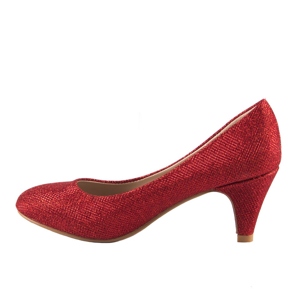 Pantofi dama eleganti XF77-J-ROSU