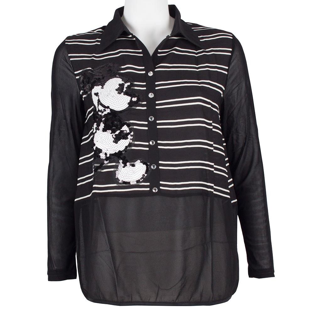 Bluza dama cu paiete aplicate GB-407-MN