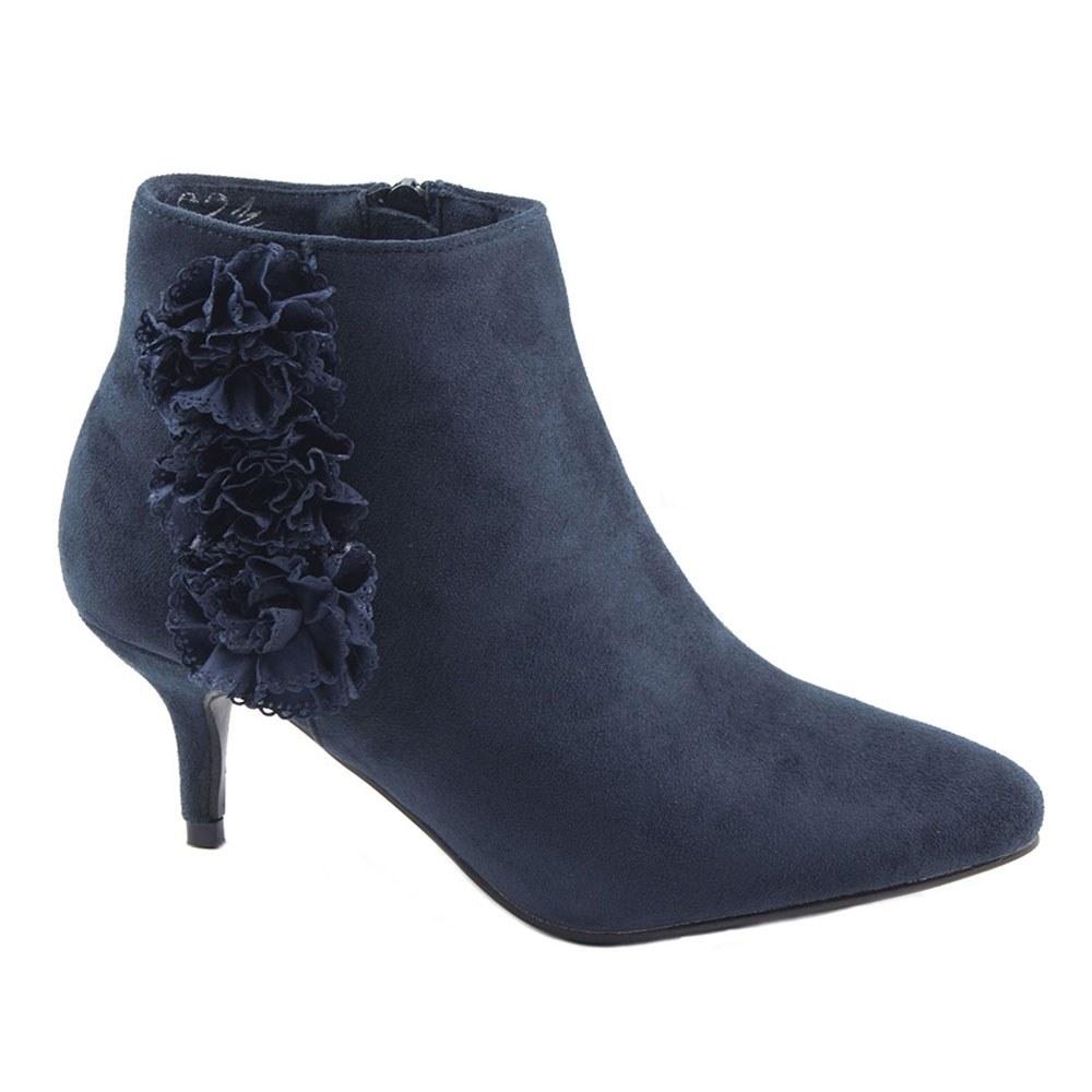 Botine de dama elegante OM237-4-DK.BLUE