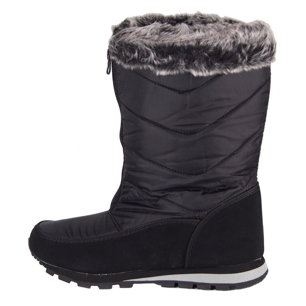 Cizme dama de iarna din fas cu strasuri aplicate 305-N