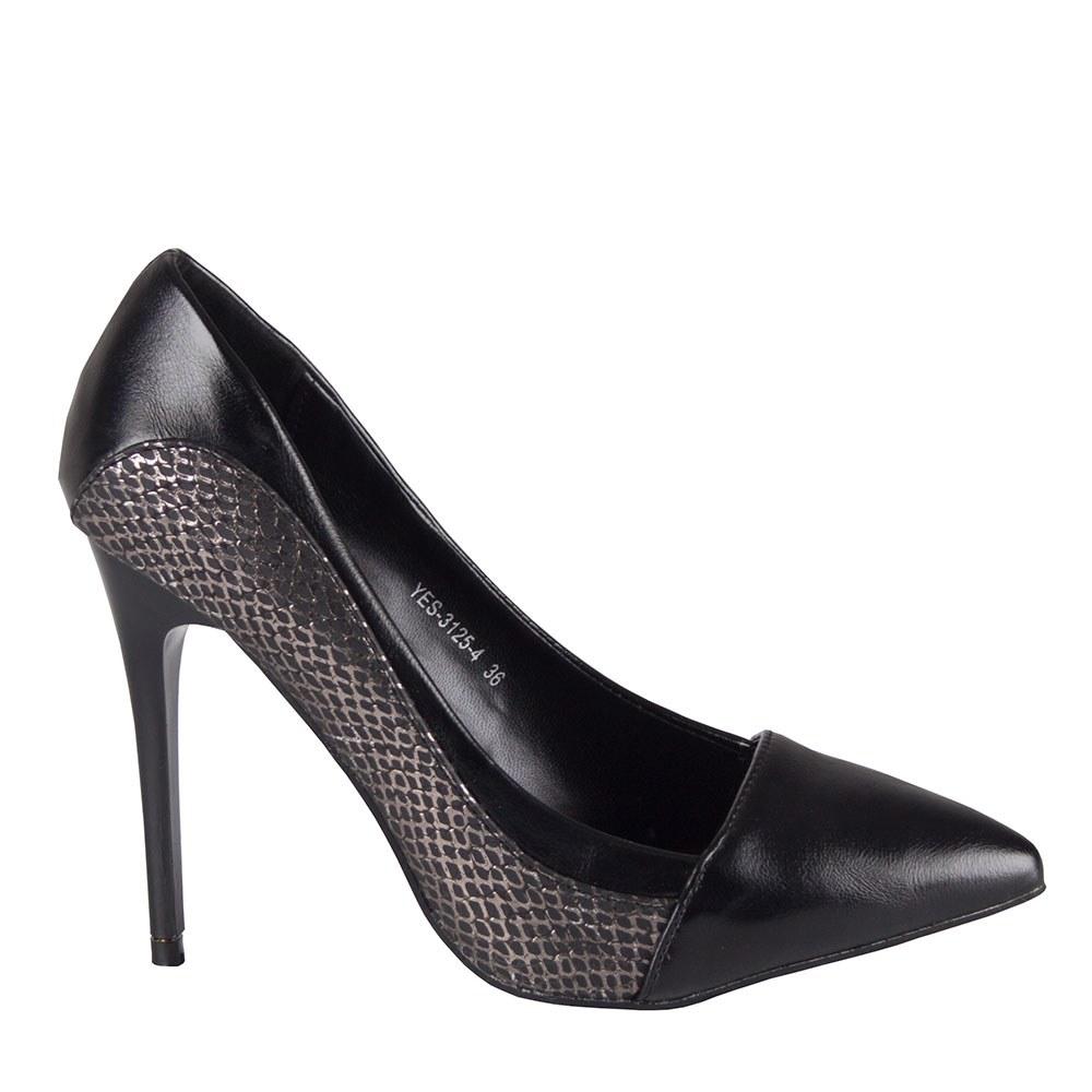 Pantofi de dama cu toc inalt YES-3125-4-N