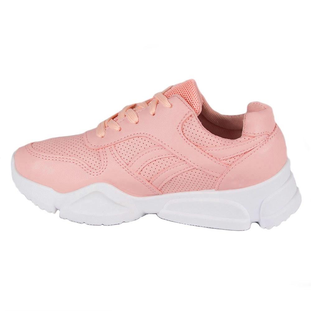 Pantofi dama sport cu siret W-5-ROZ