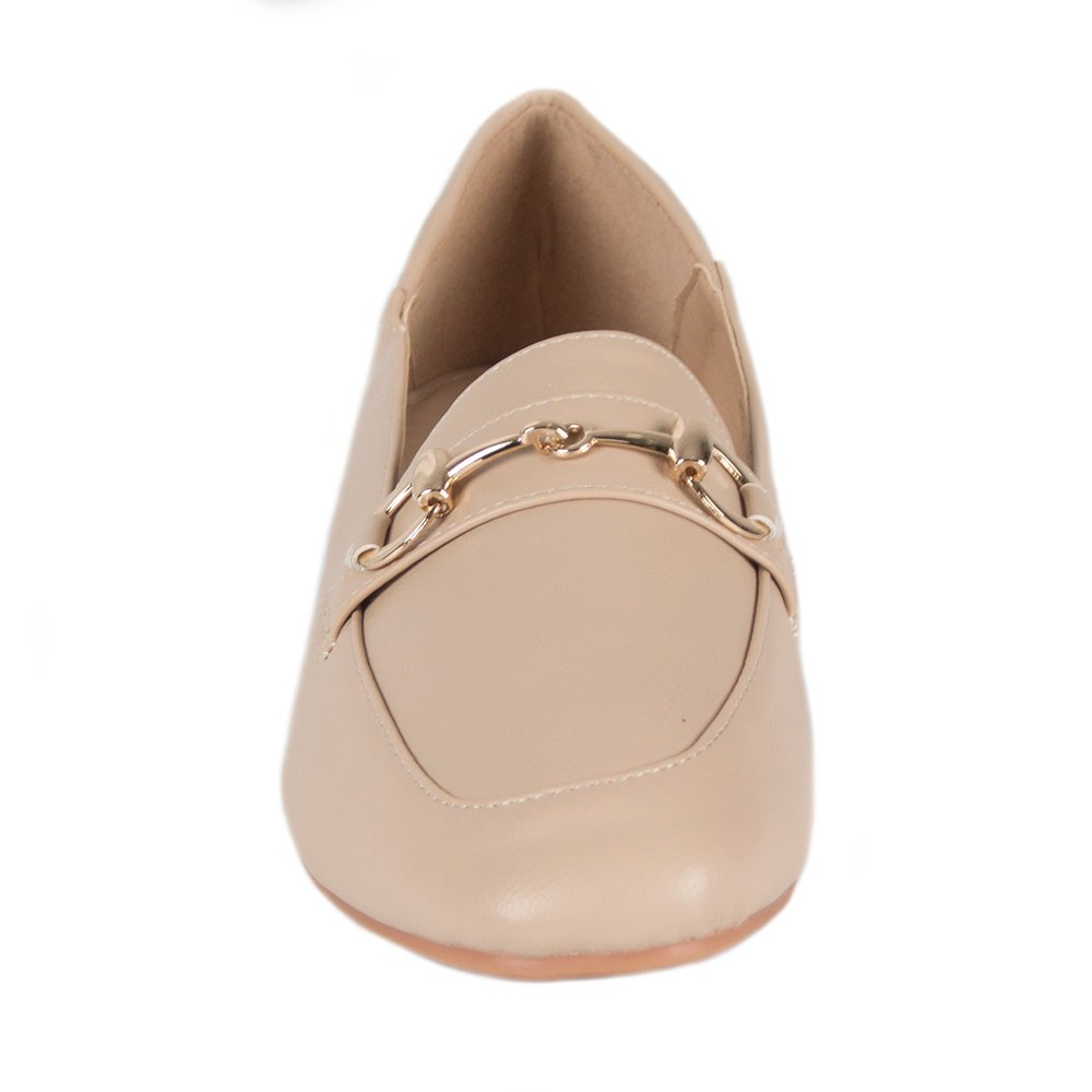Pantofi dama comozi cu accesoriu auriu KFL-510-B