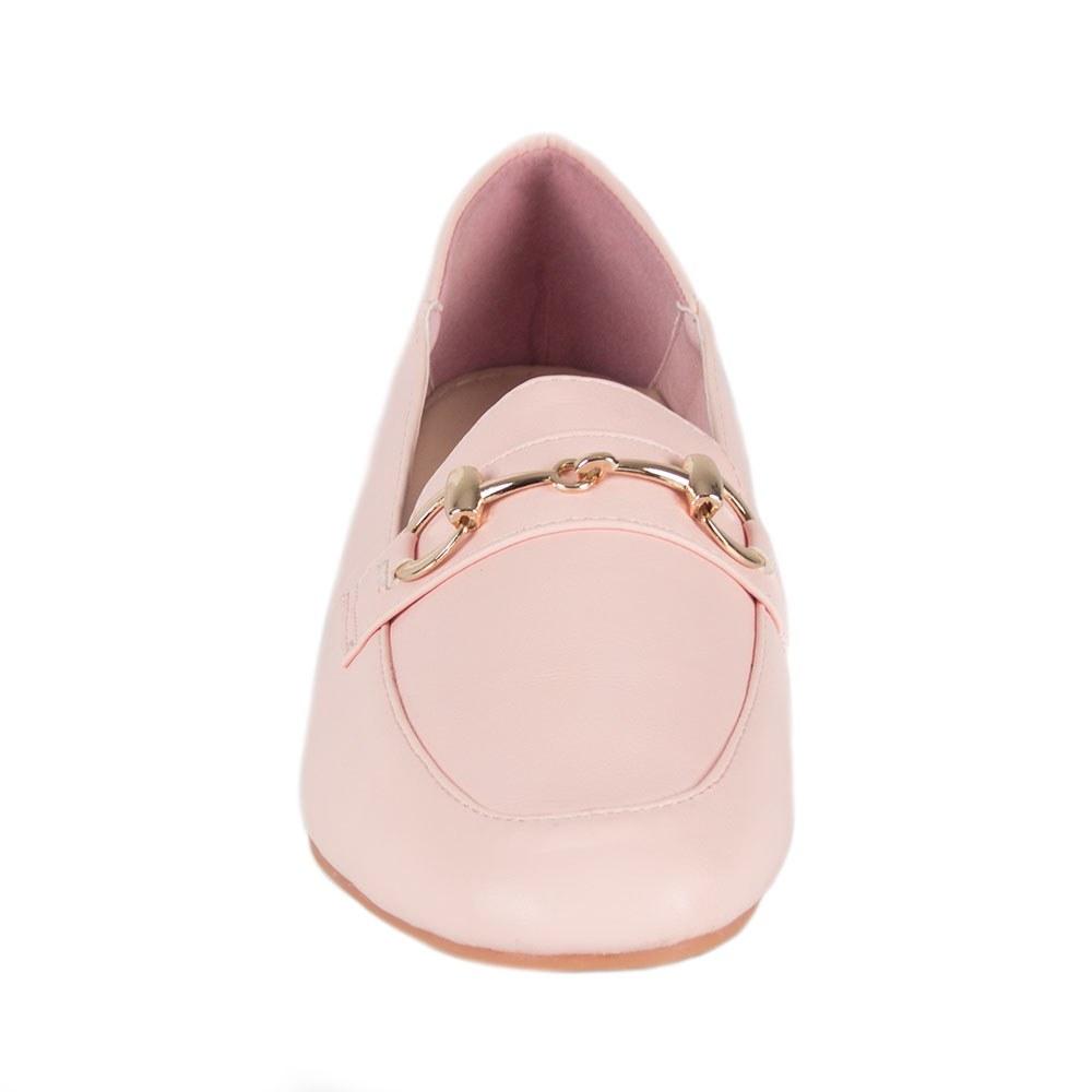 Pantofi dama cu accesoriu auriu KFL-510-P.P