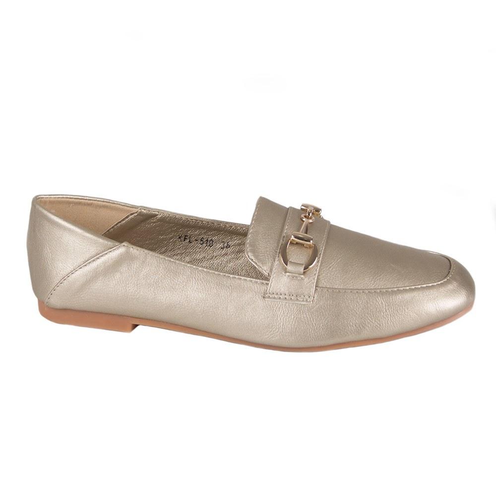 Pantofi de dama cu talpa joasa KFL-510-G