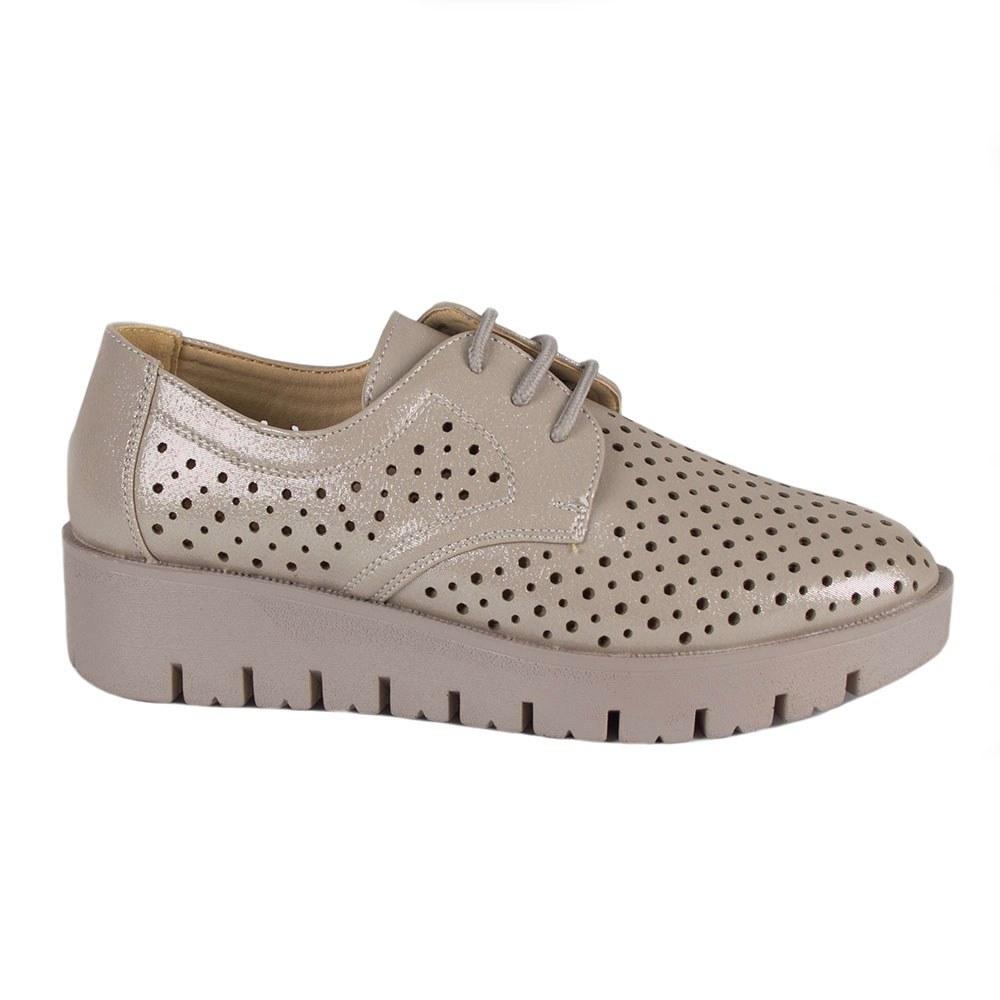Pantofi dama casual perforati ML-16325-K