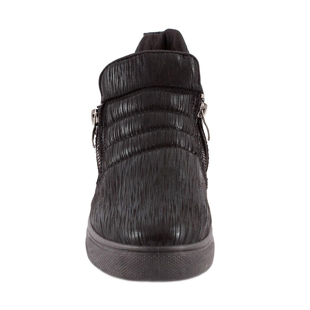 Sneakers dama cu fermoare laterale L-213-N