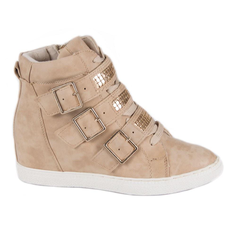 Sneakers dama accesorizati W0533-C