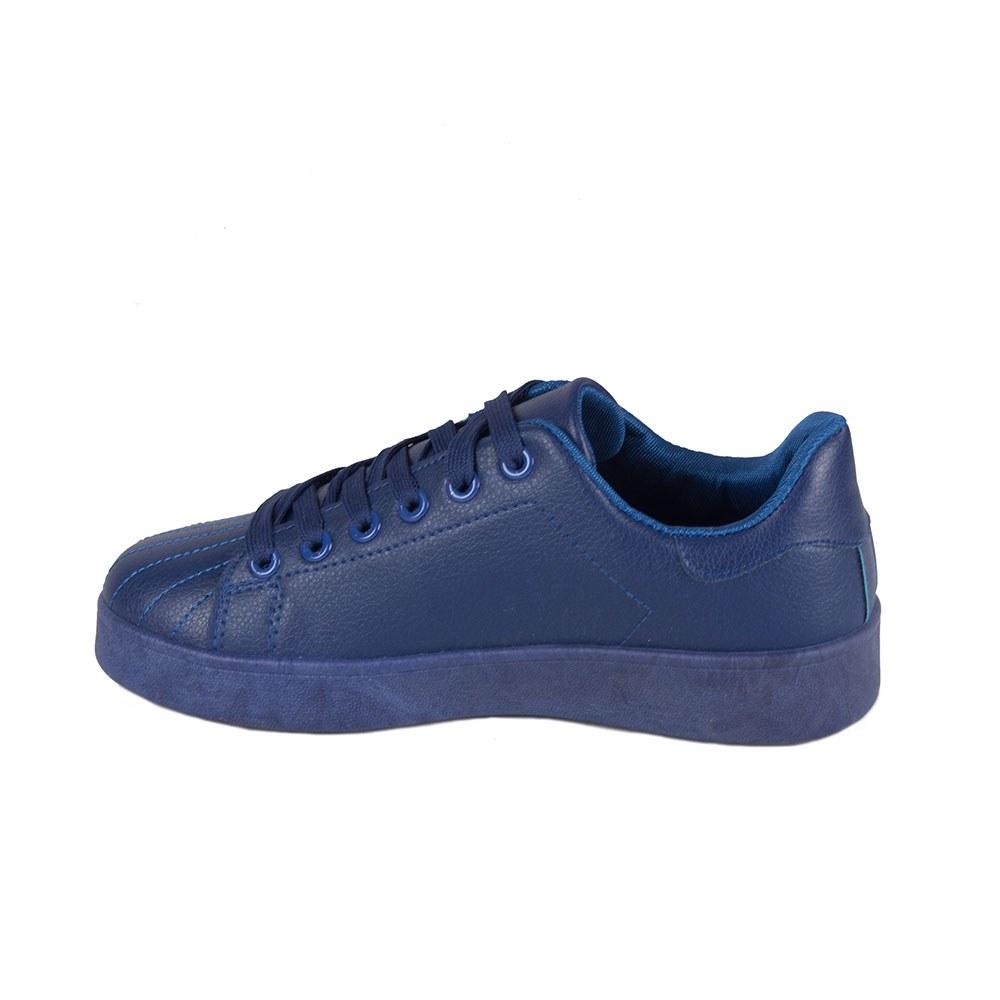 Tenisi dama albastri cu siret R137-R.B