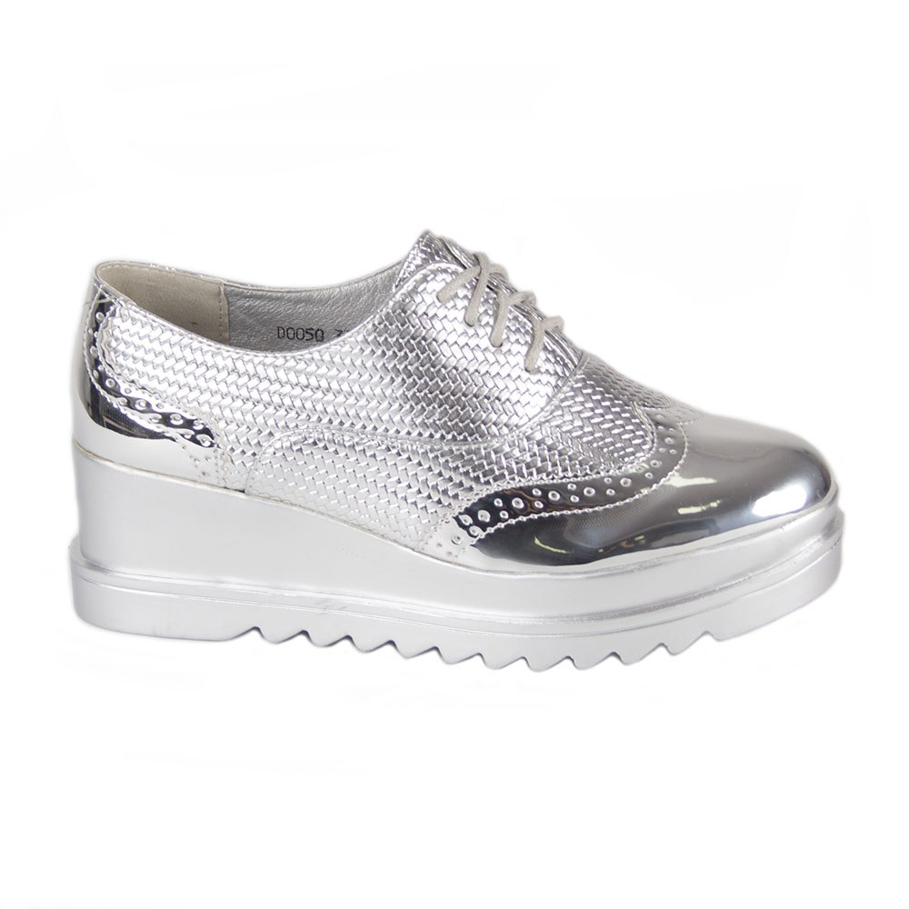 Pantofi dama casual cu platforma DQ050-S