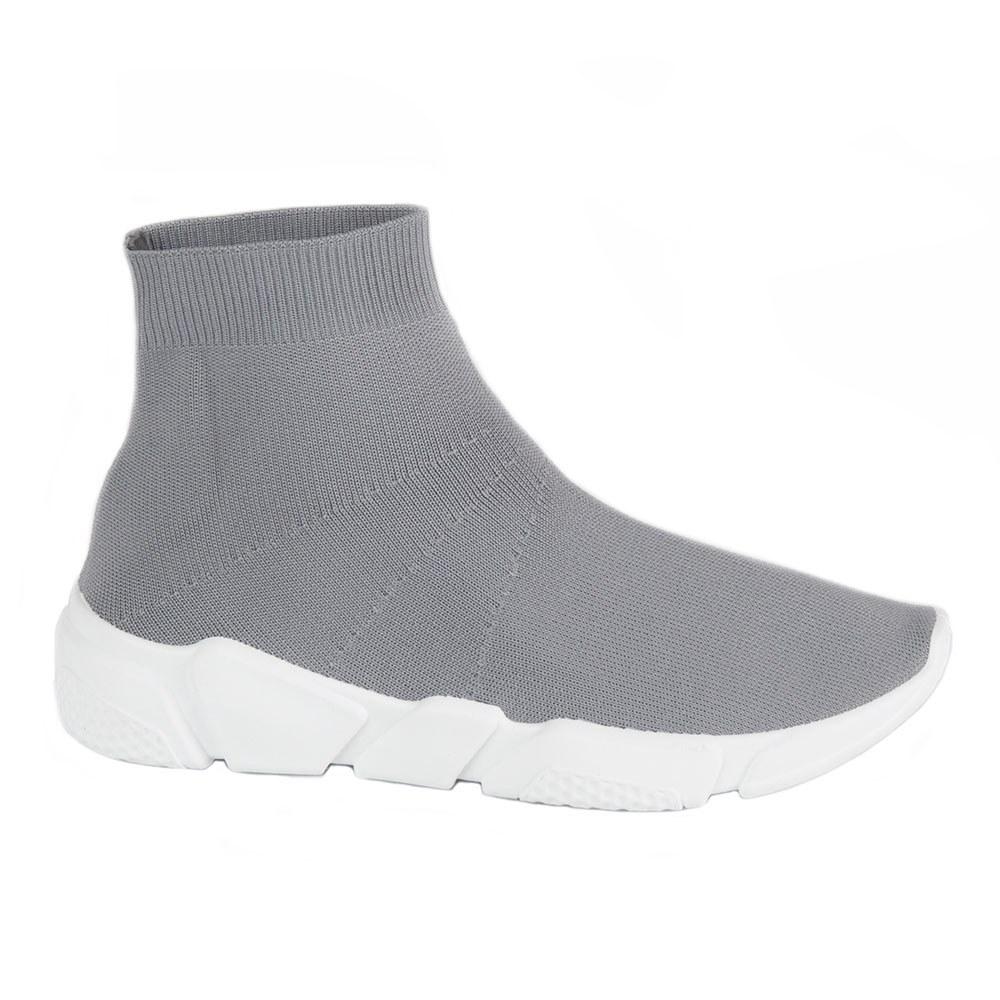 Sneakers de dama din material elastic NB122P-G