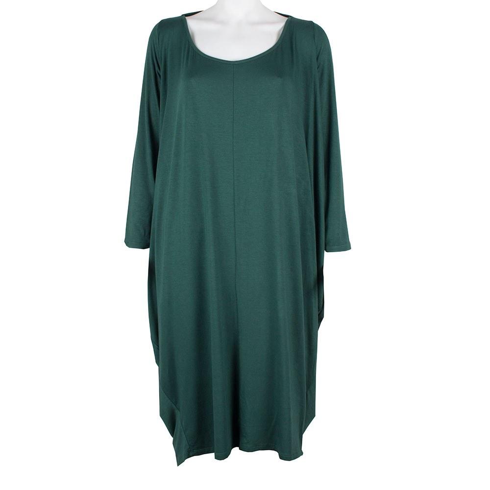 Rochie de dama verde oversize 745-08-V