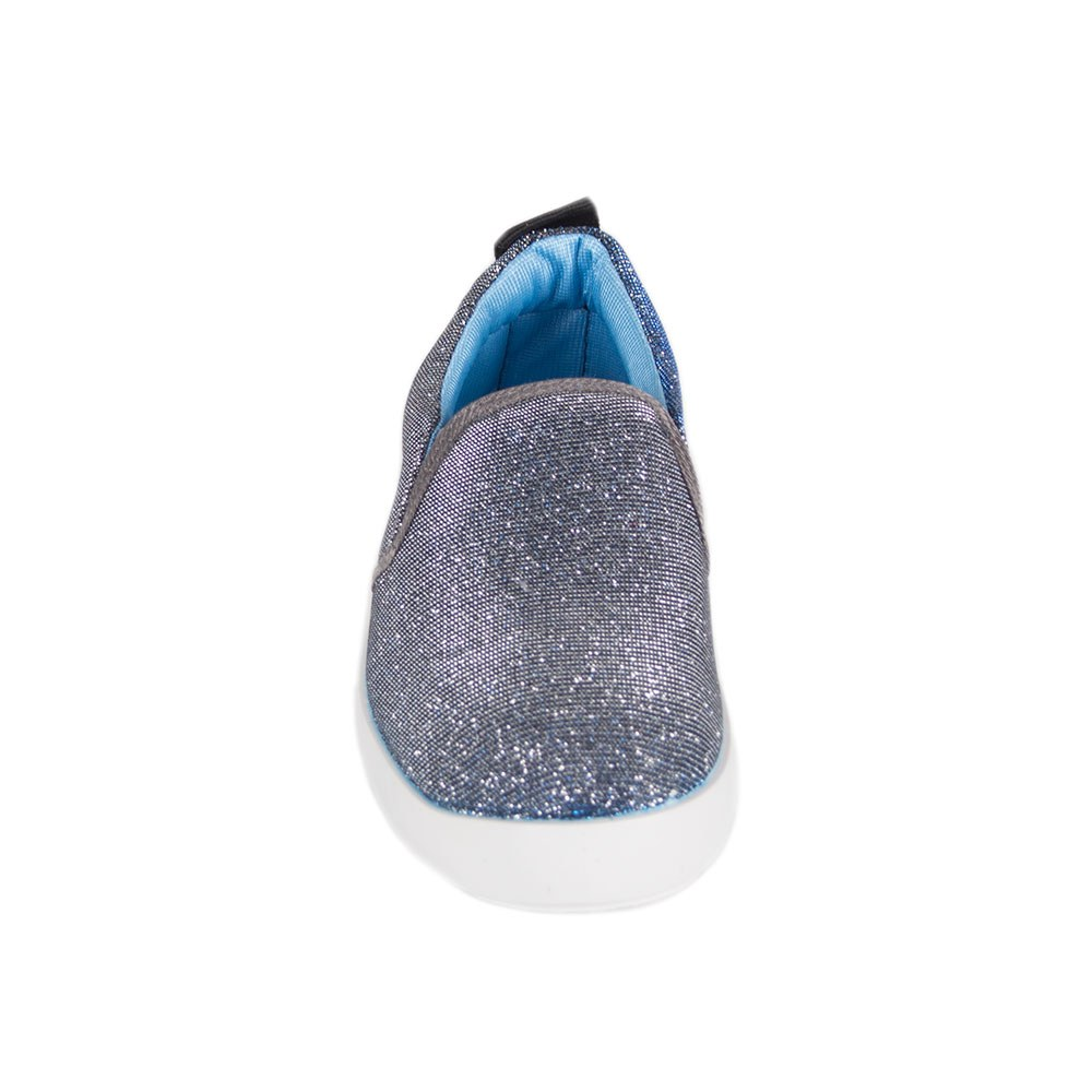 Espadrile dama albastre cu insertii stralucitoare Y-57-B