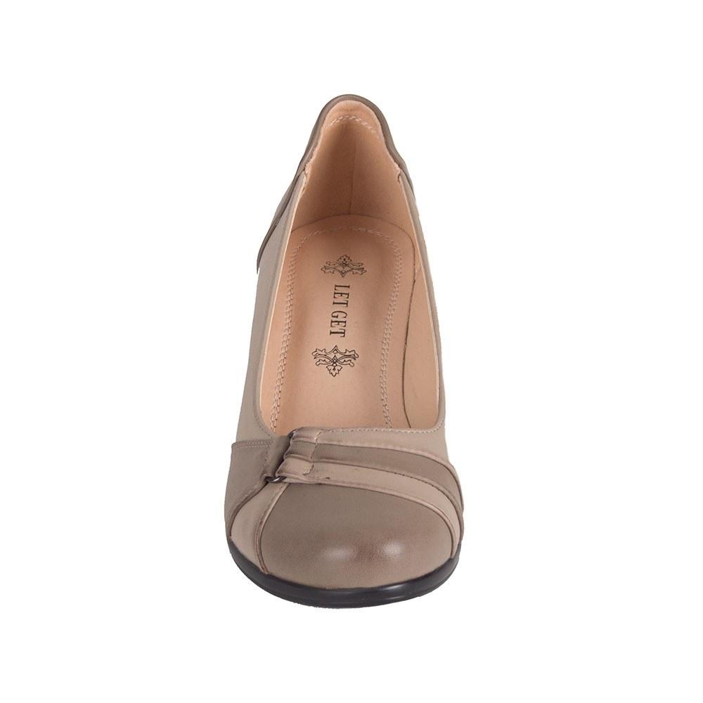 Pantofi dama bej cu talpa ortopedica D5950-3-T-S