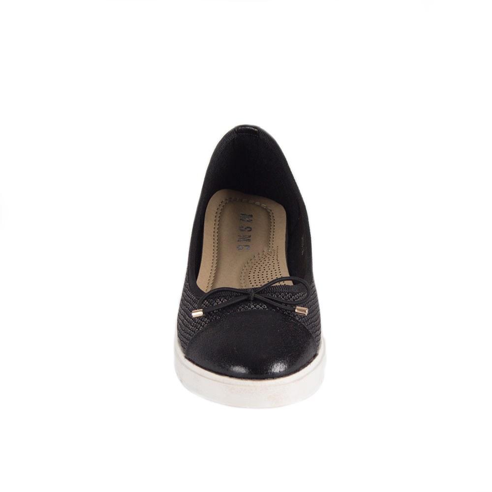 Pantofi dama negri cu talpa usoara LX6001-N