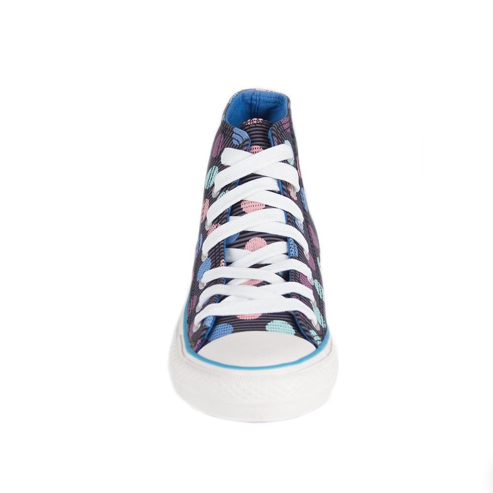 Tenisi de dama cu buline colorate C222-38-F