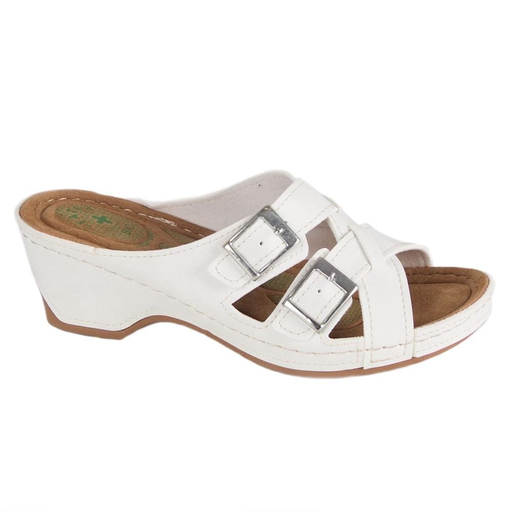 Papuci de dama crem FB-0307-C
