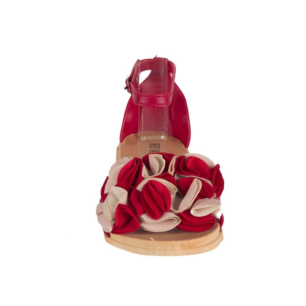 Sandale dama rosii din cauciuc MDR-1809-R
