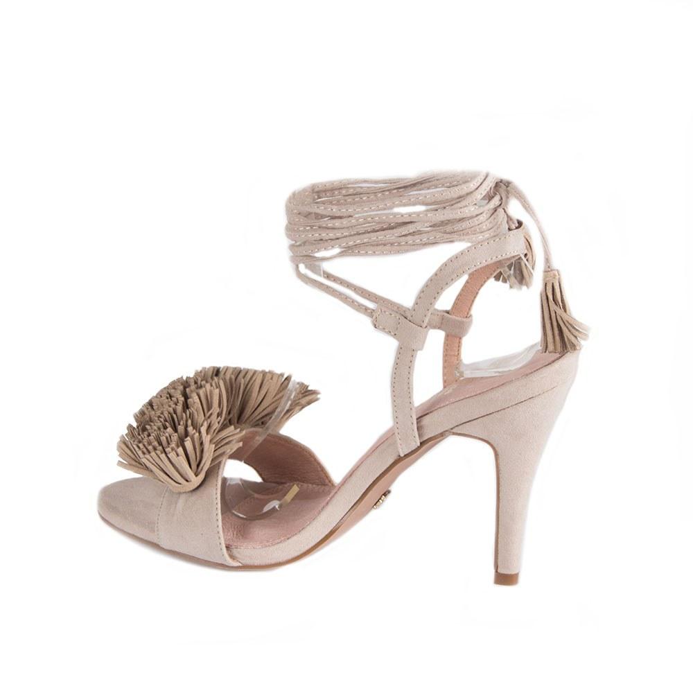 Sandale dama bej cu toc MP01-B