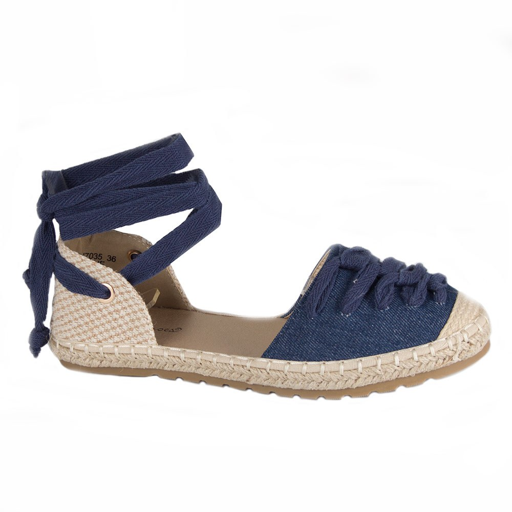 Sandale de dama comode din denim HJ7035-A