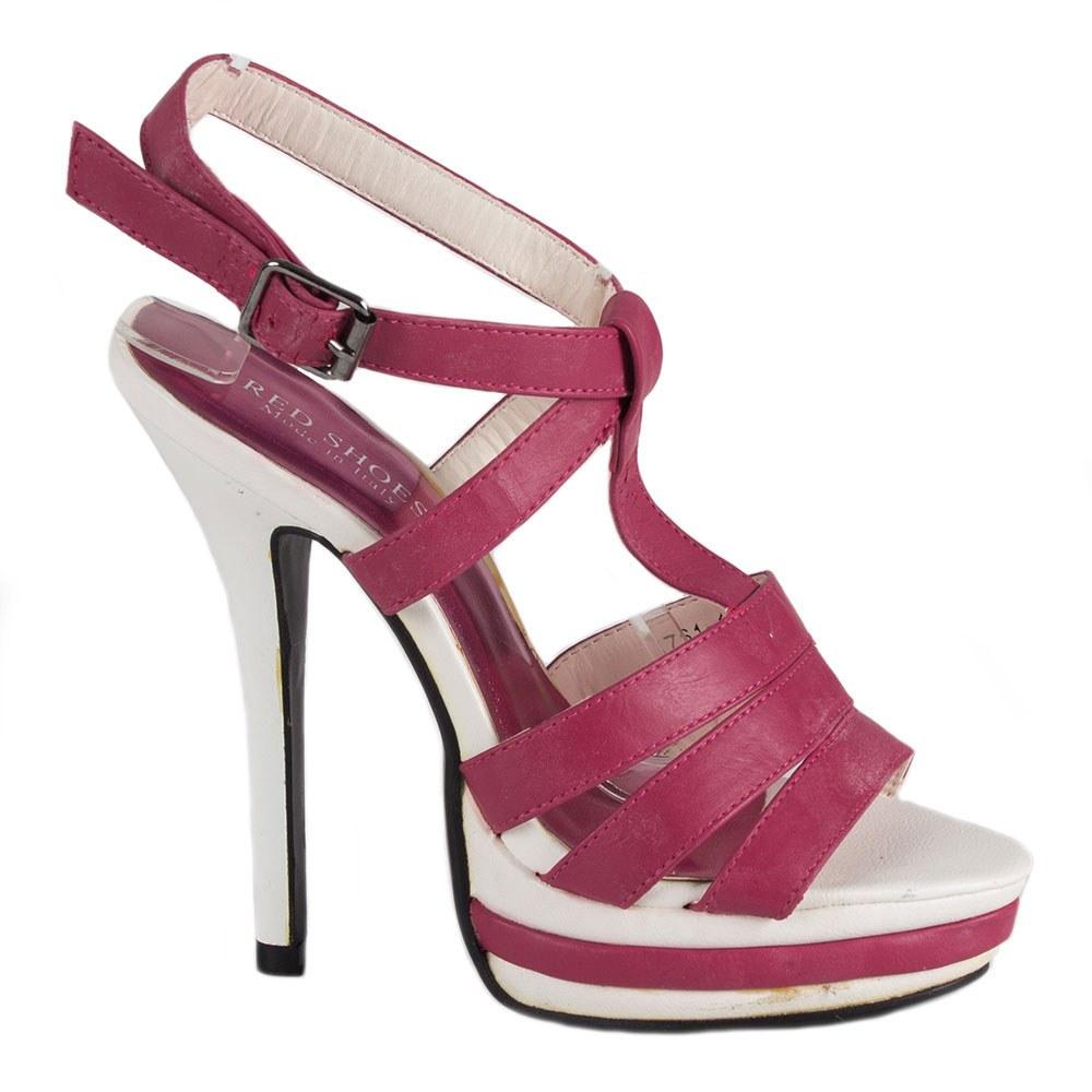 Sandale dama cu platforma 7161-1F-O