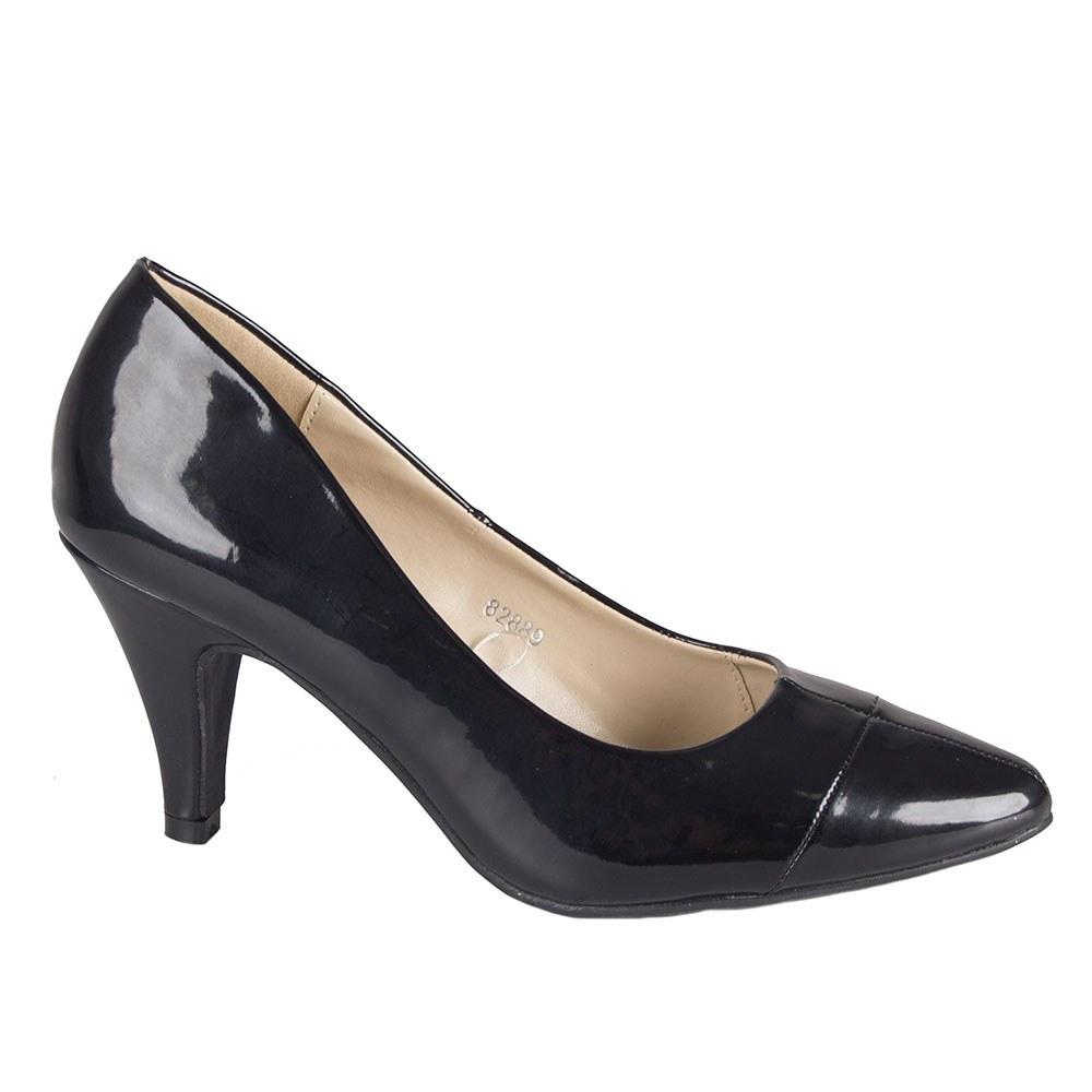 Pantofi dama negri lacuiti 82889-N-PT