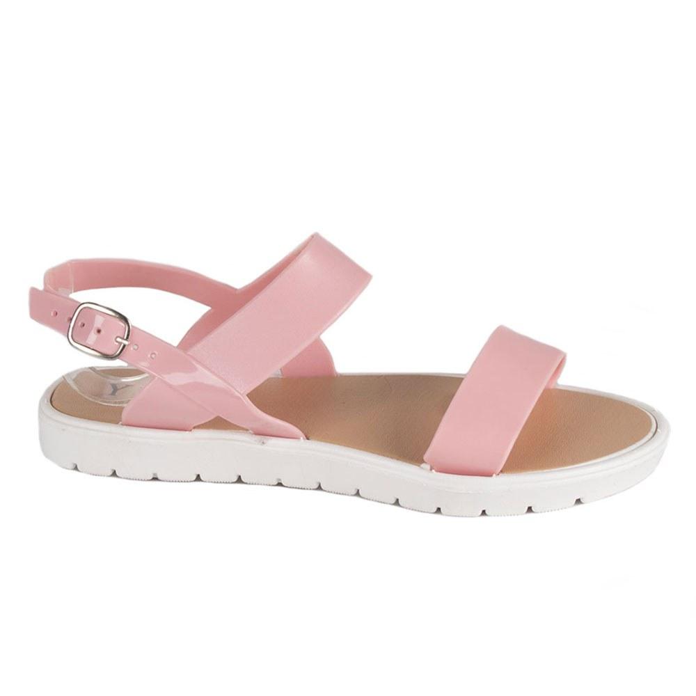 Sandale de dama roz din cauciuc S-1-R