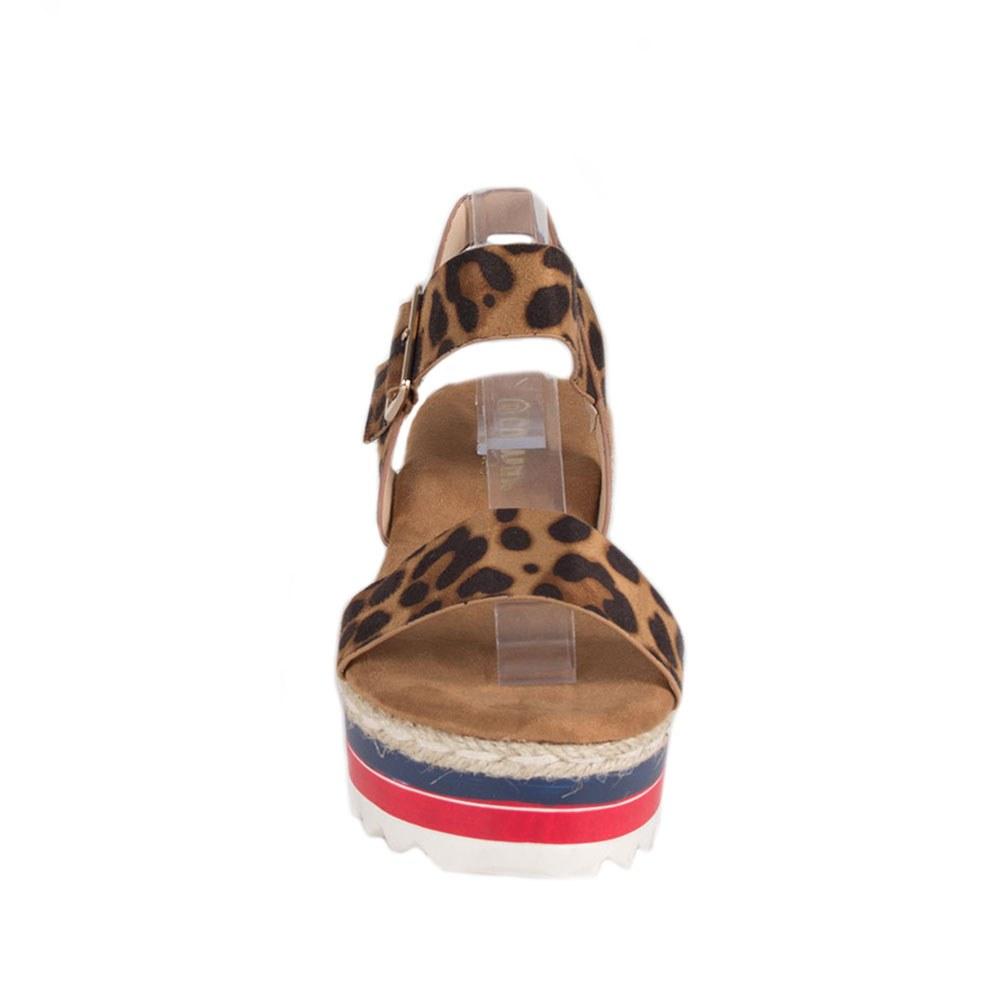 Sandale dama animal print TCYS-8-L
