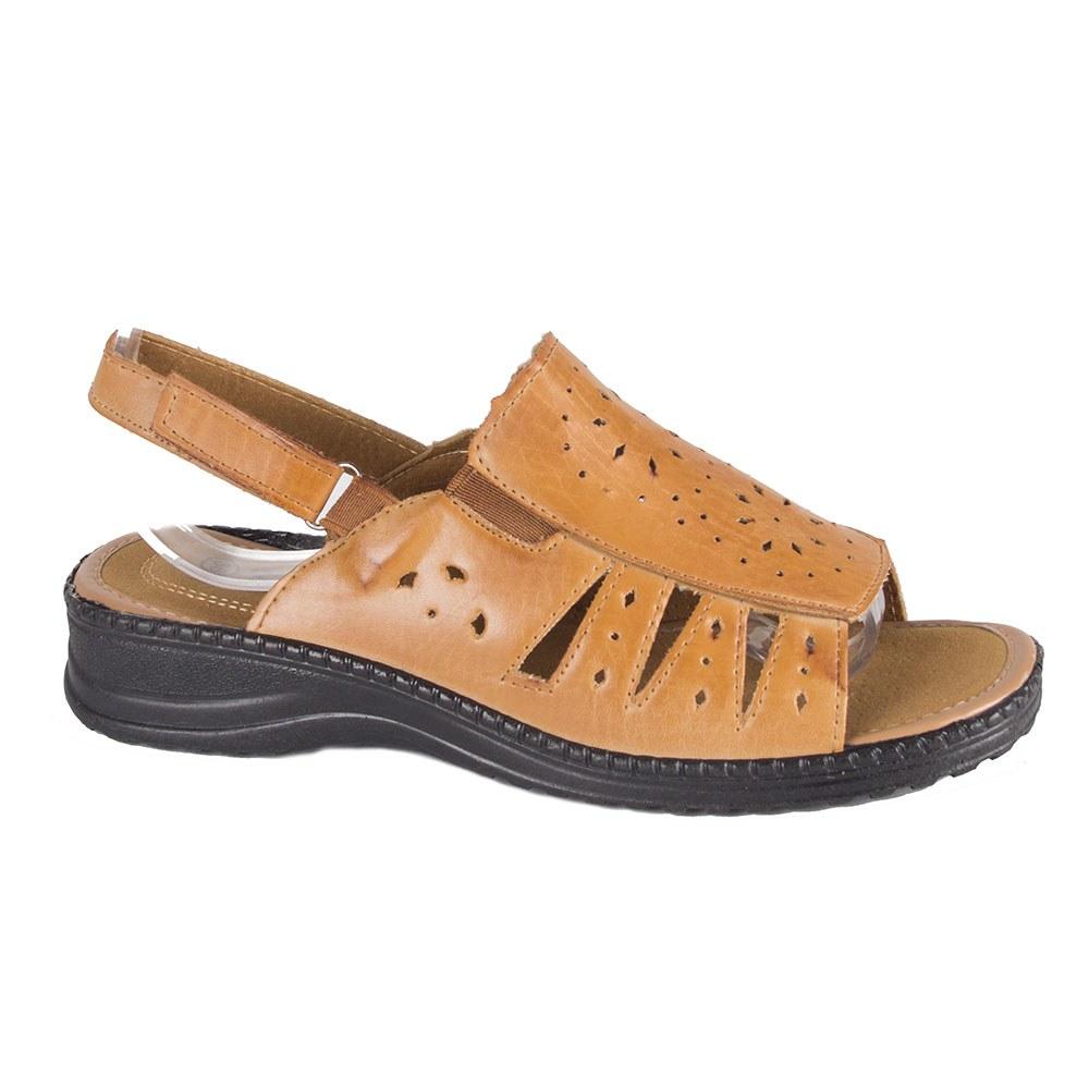 Sandale de dama cu talpa joasa si model perforat T-08-B