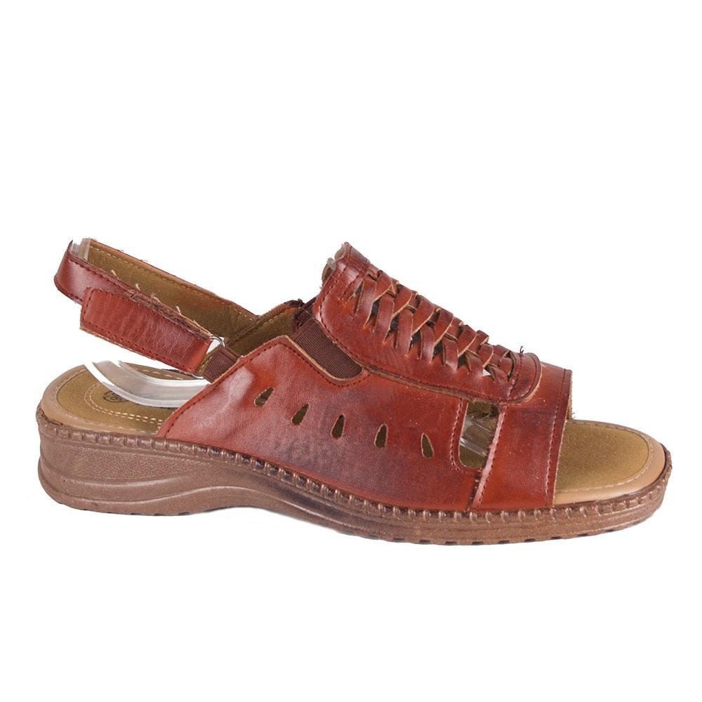 Sandale dama maro cu talpa joasa T-07-M